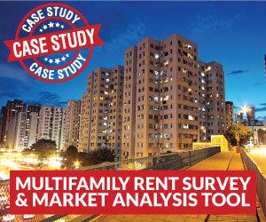 Multifamily Apartments - Rent Survey and Market Analysis Tool in Microsoft Excel®