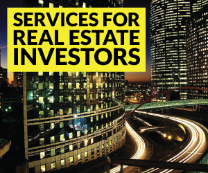 Real Estate Investors - Analysis and Advisory Consulting