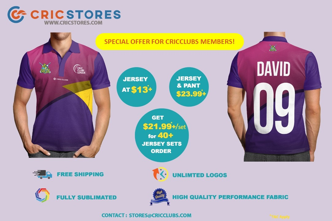 CricClubs Store