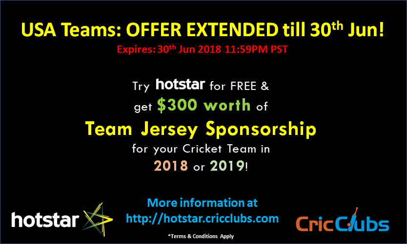 Hotstar Criclub event
