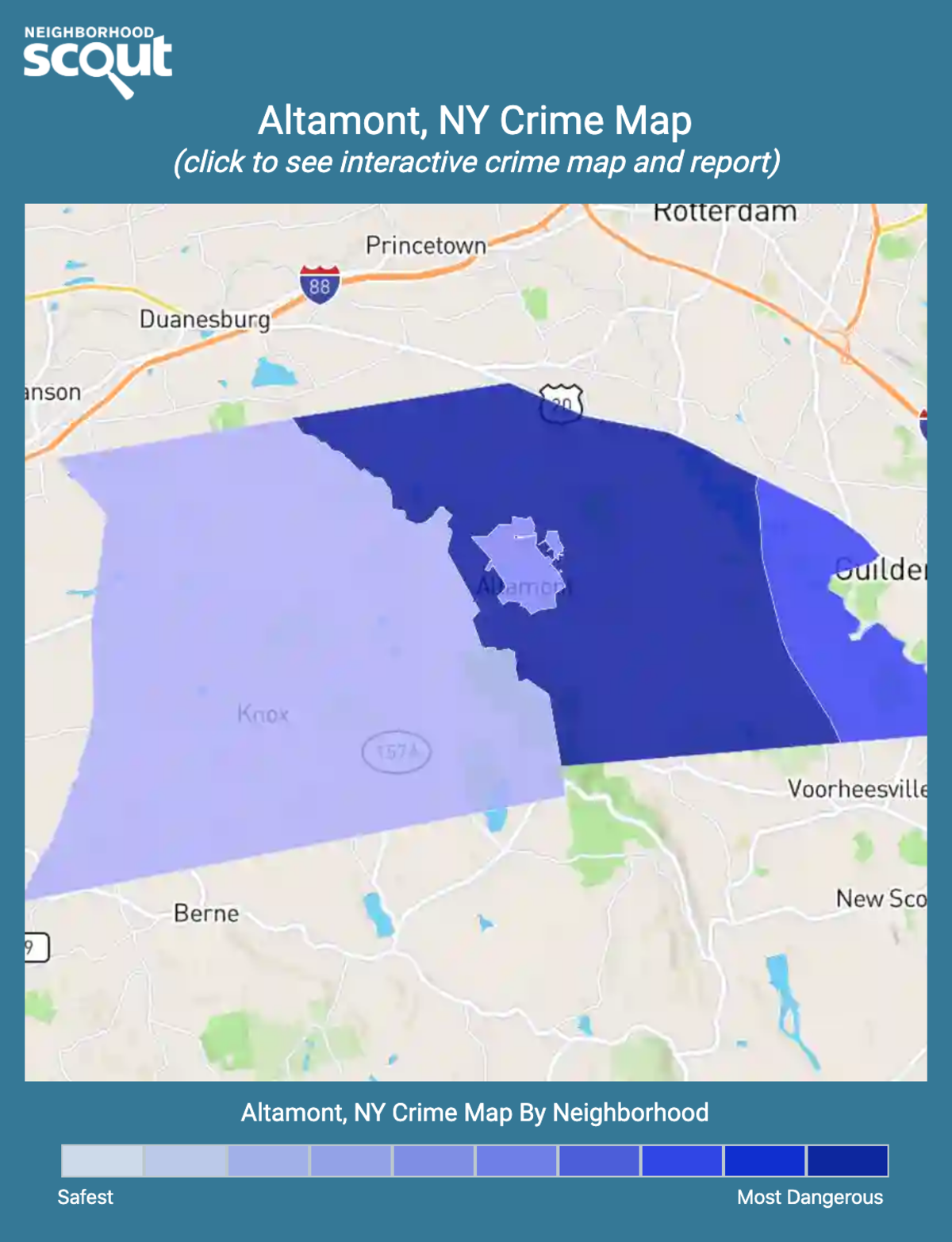 Altamont, New York crime map
