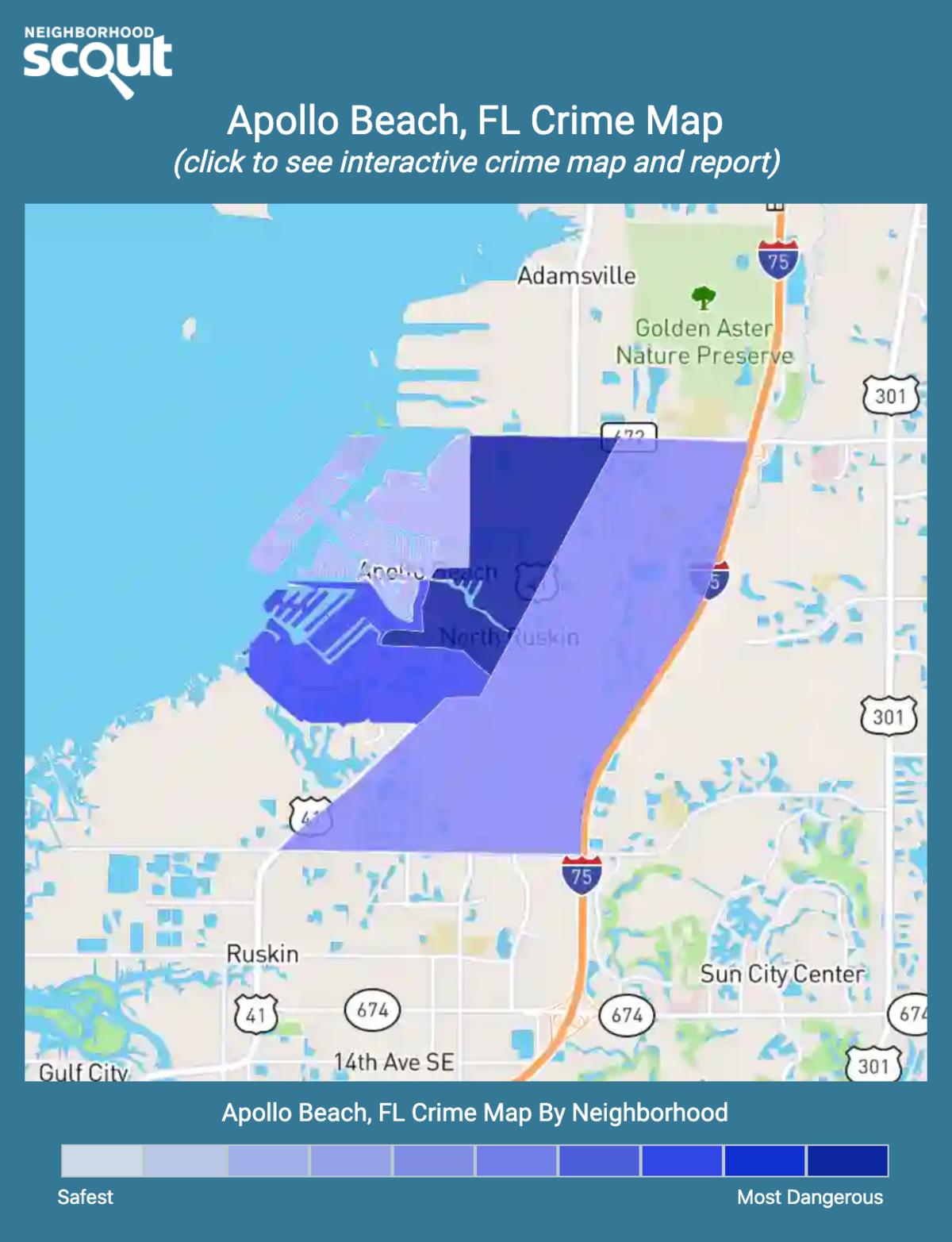 Apollo Beach, Florida crime map
