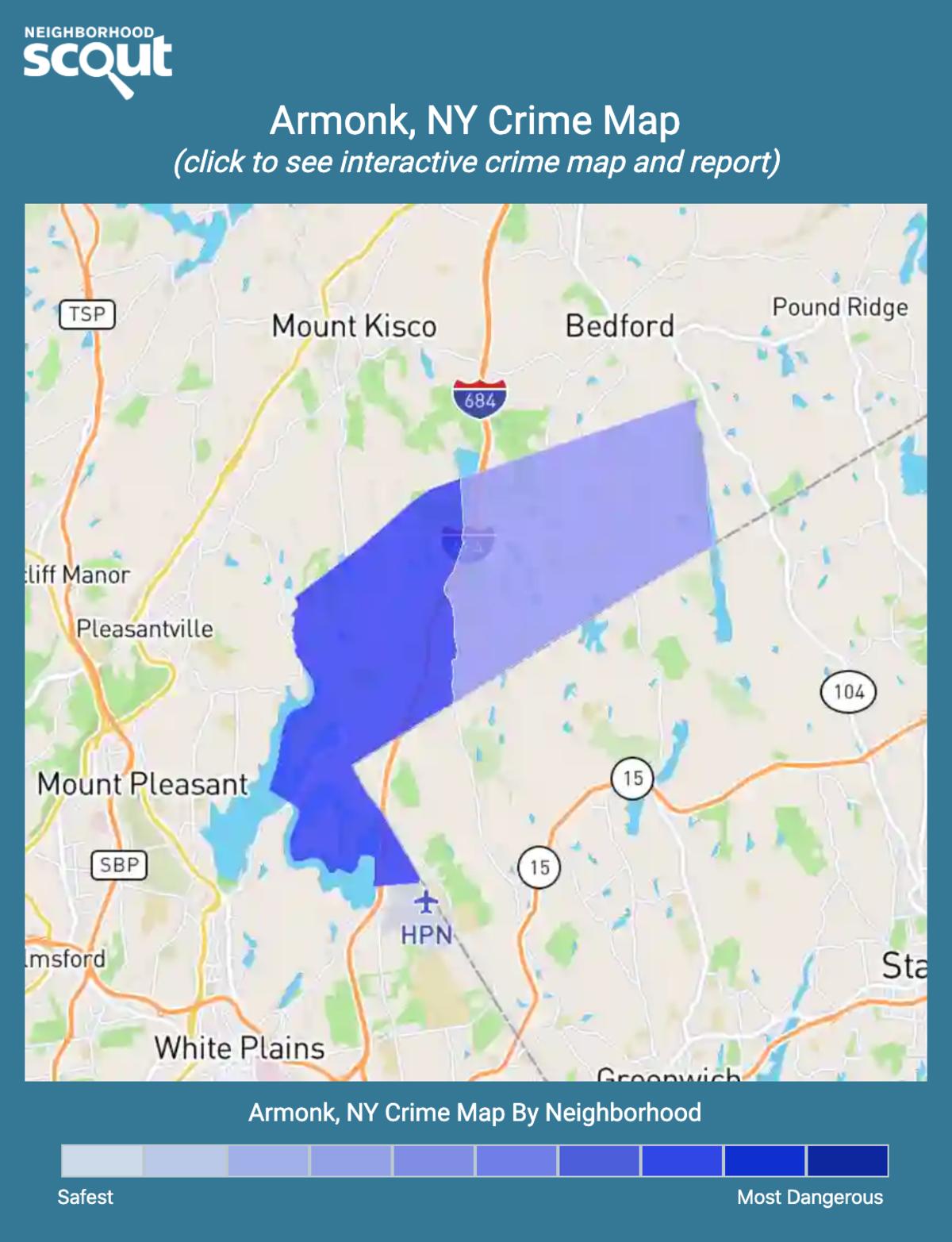 Armonk, New York crime map