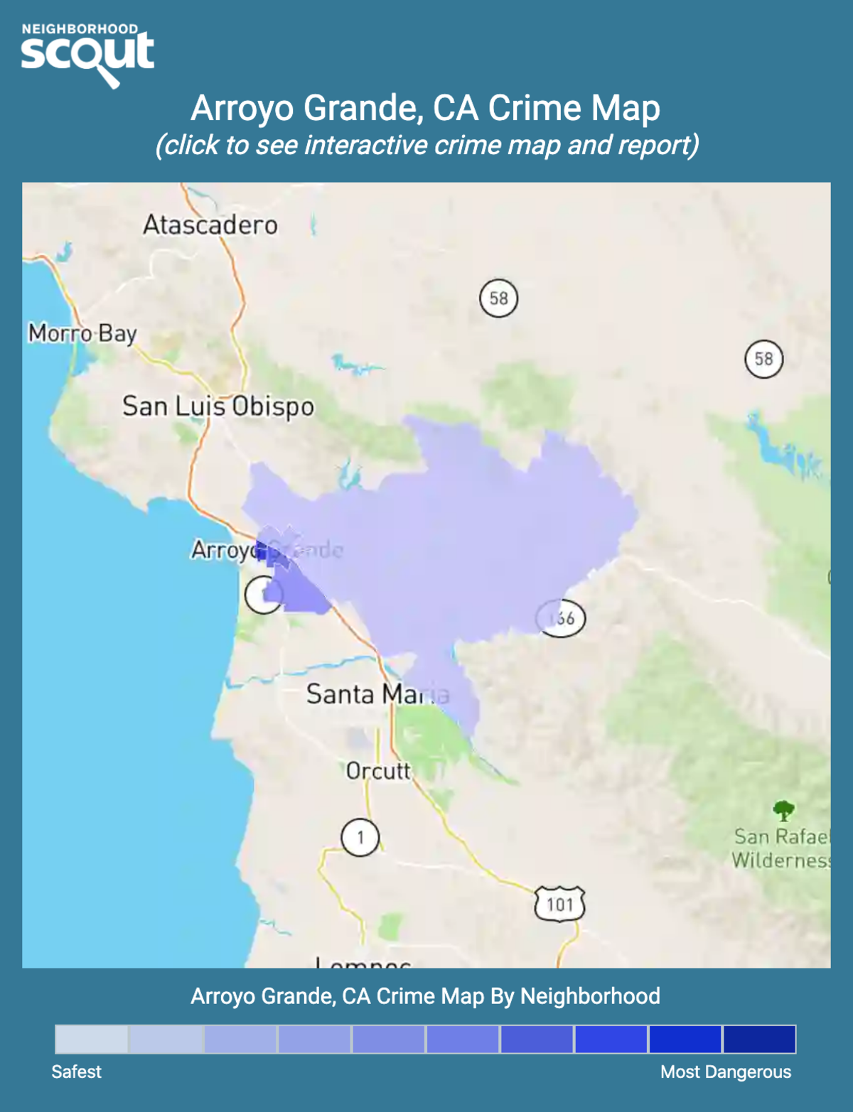 Arroyo Grande, California crime map