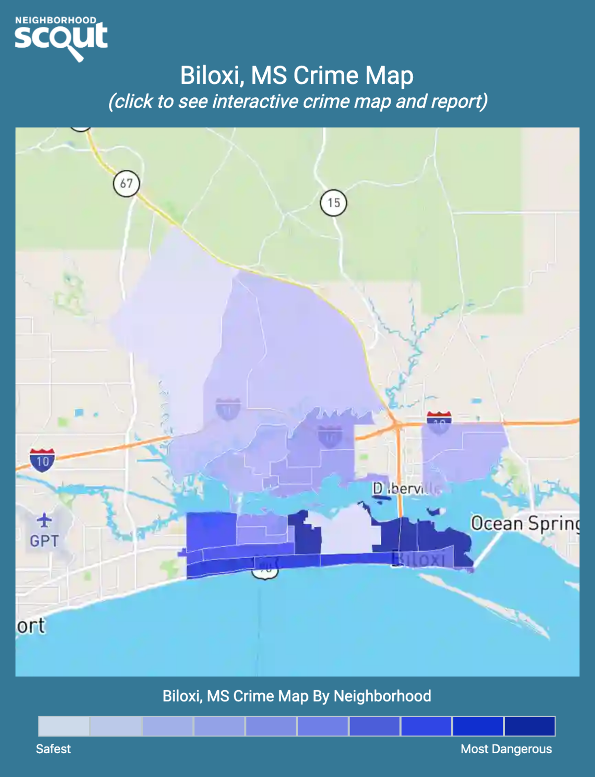 Biloxi Crime Rates And Statistics Neighborhoodscout