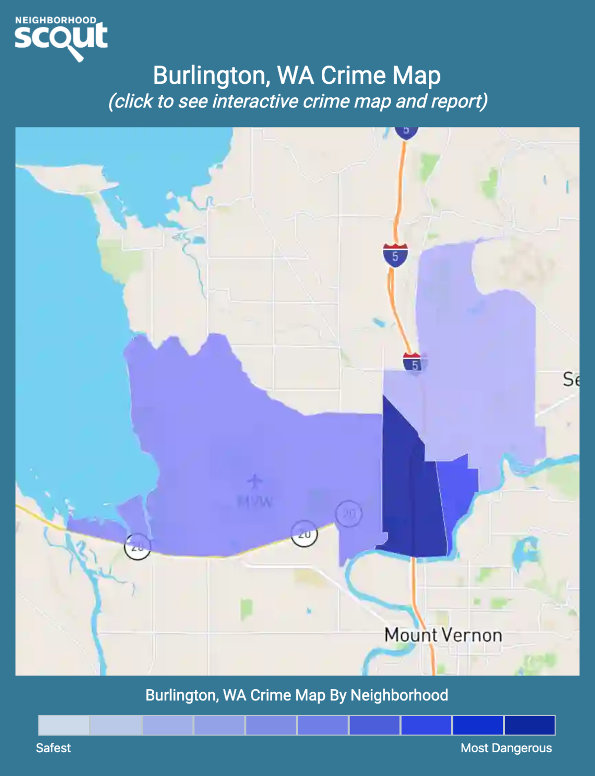 Burlington, Washington crime map