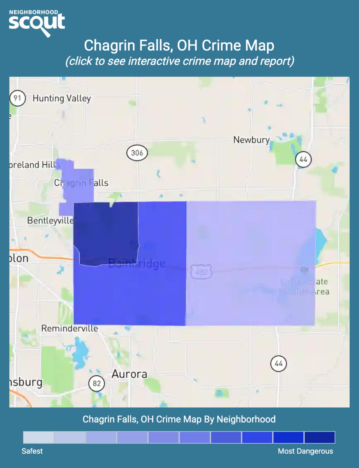 Chagrin Falls, Ohio crime map