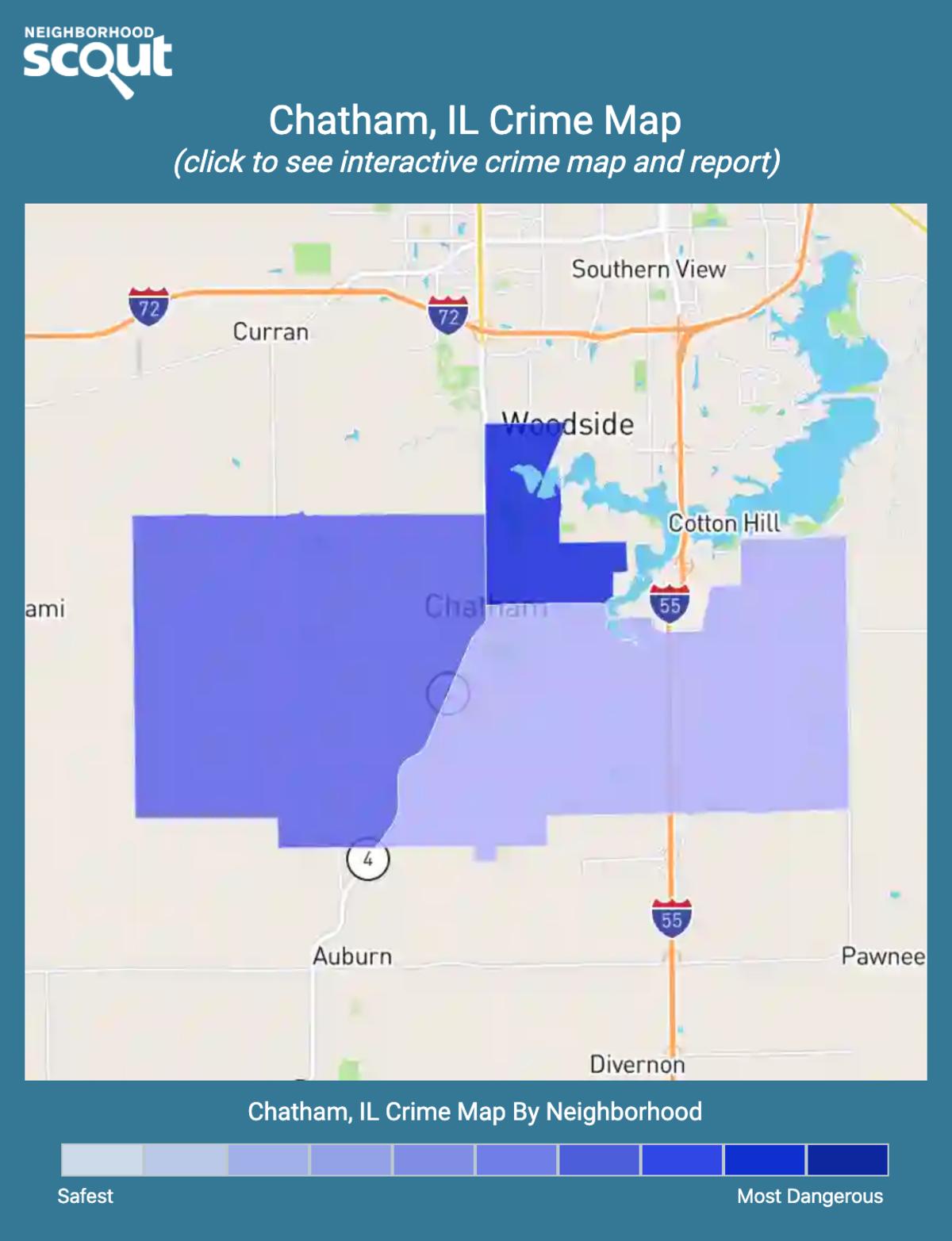 Chatham, Illinois crime map