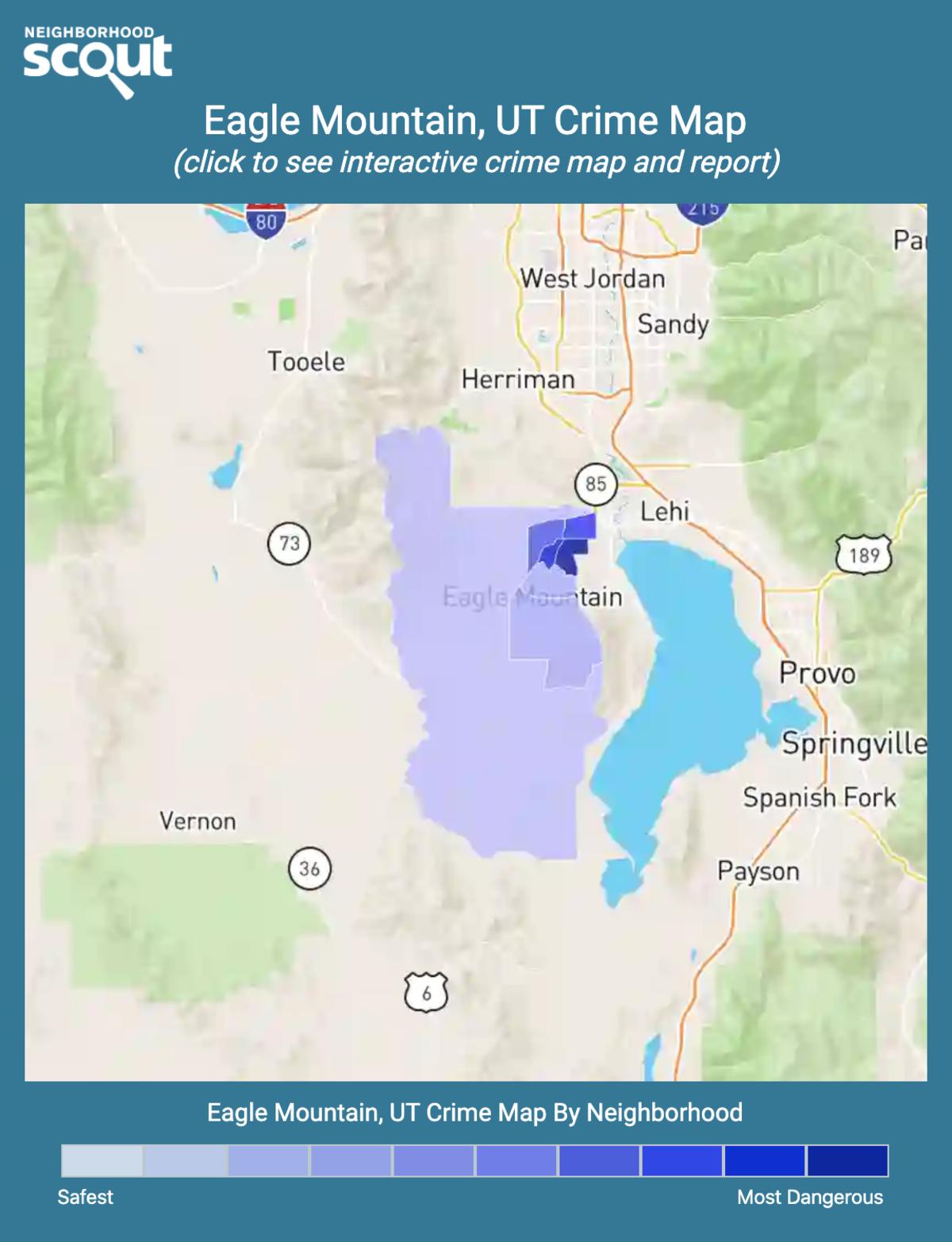 Eagle Mountain, Utah crime map