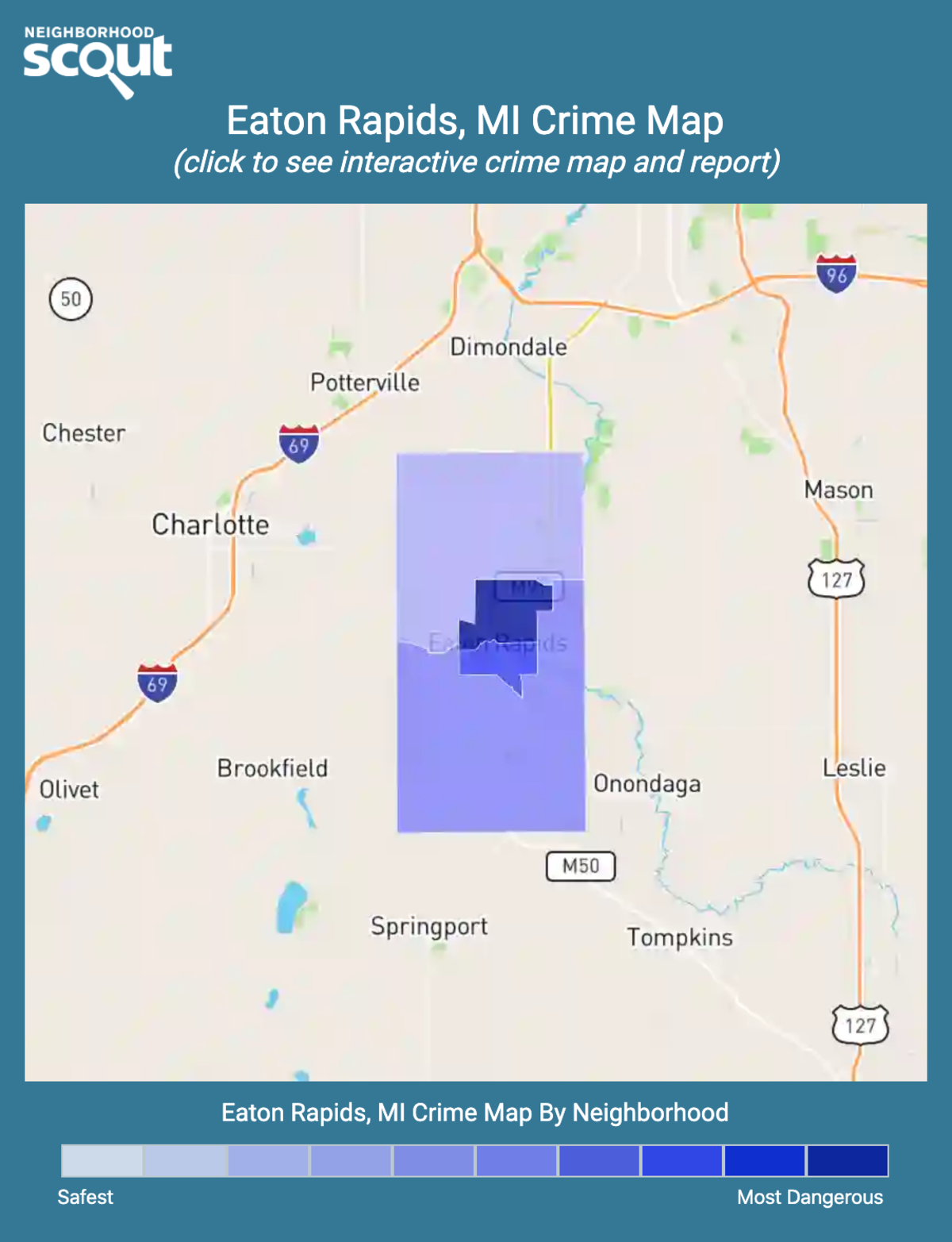 Eaton Rapids, Michigan crime map