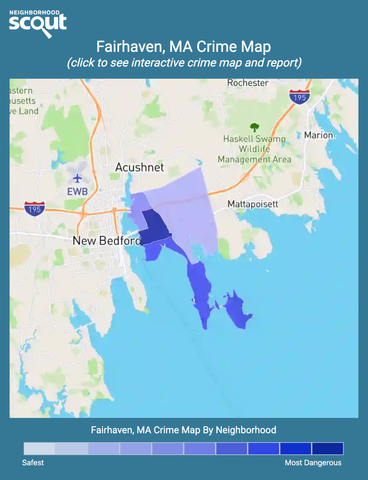 Fairhaven, Massachusetts crime map