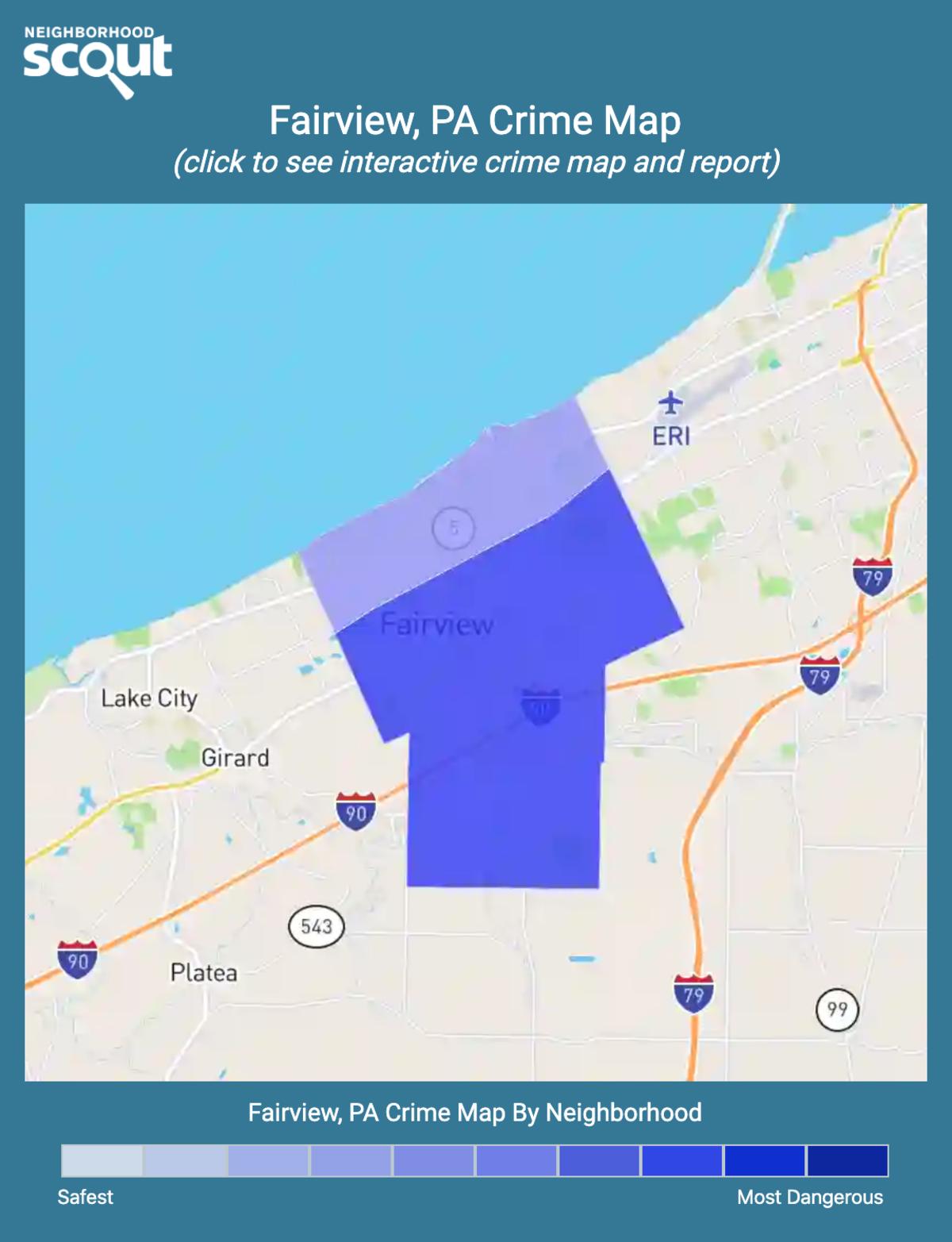 Fairview, Pennsylvania crime map