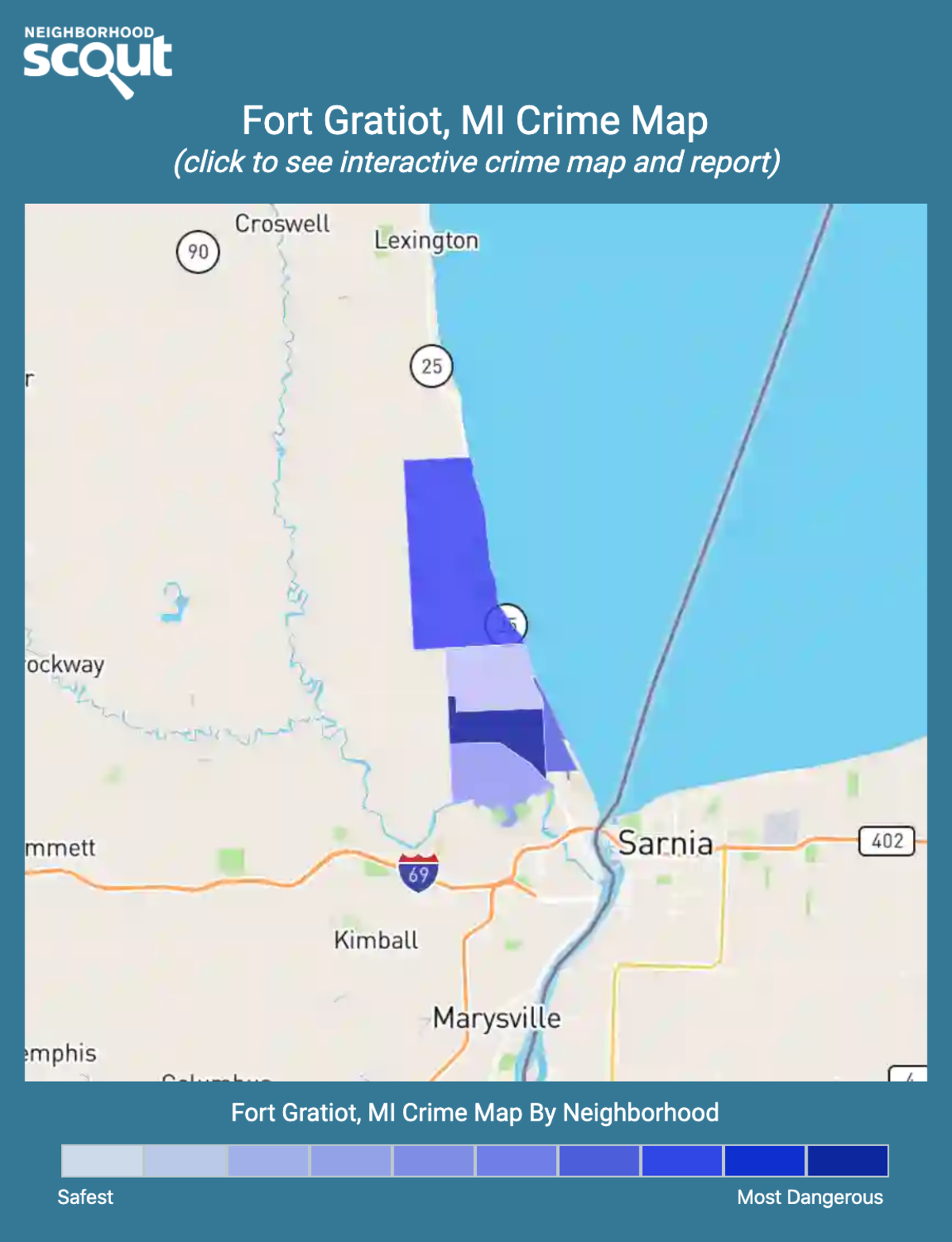Fort Gratiot, Michigan crime map