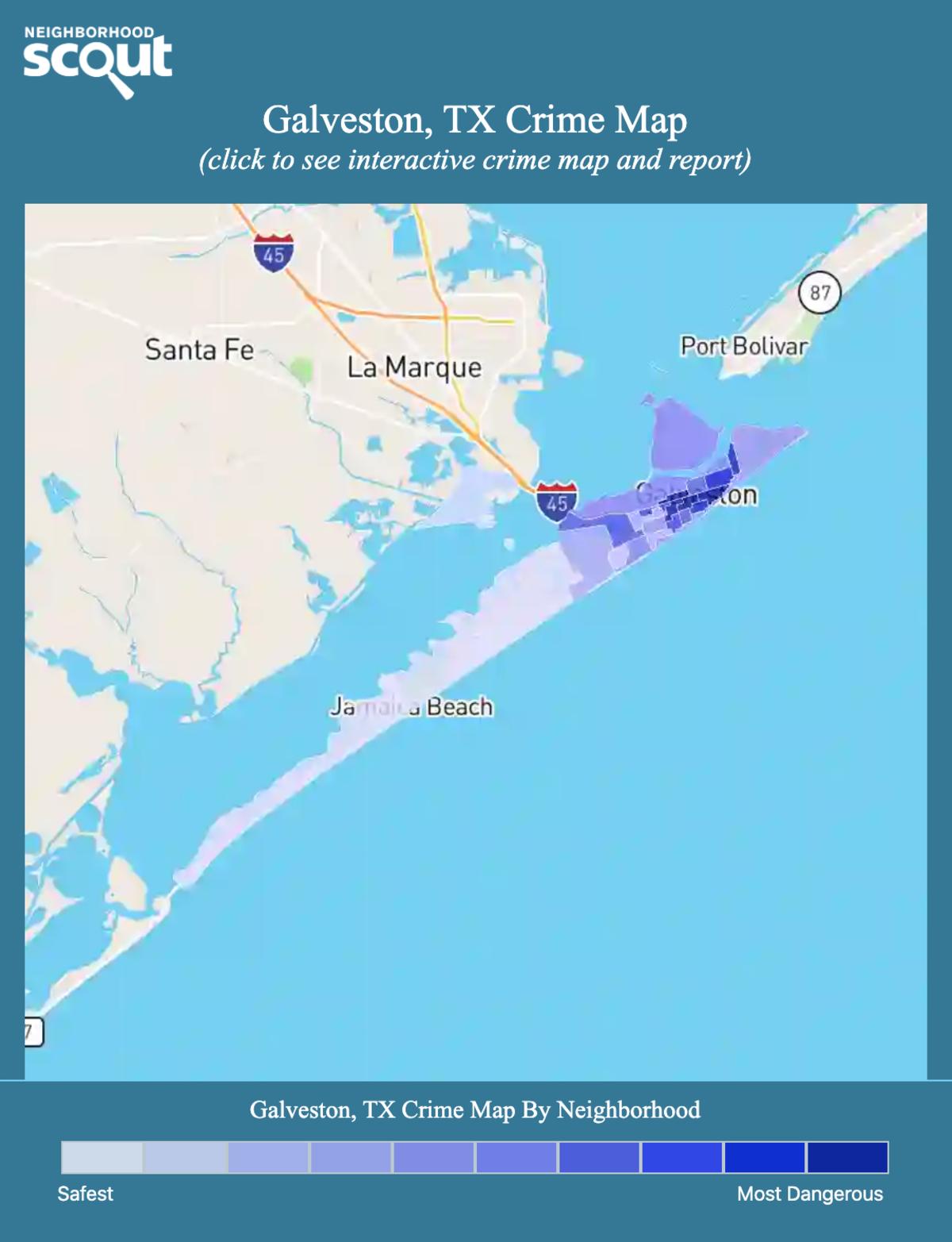 Galveston, TX Crime Rates and Statistics - NeighborhoodScout on