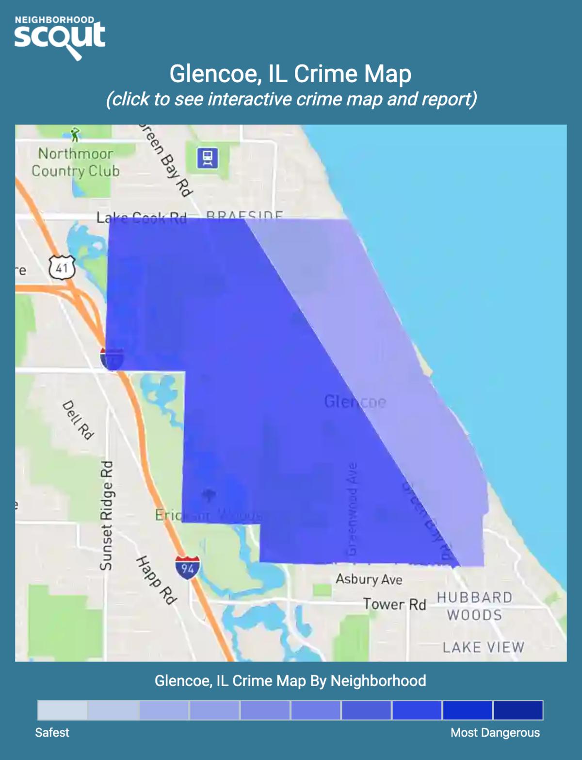 Glencoe, Illinois crime map