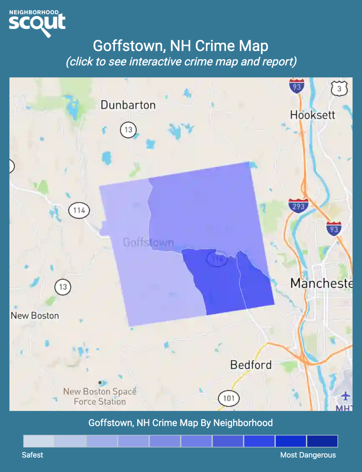 Goffstown, New Hampshire crime map