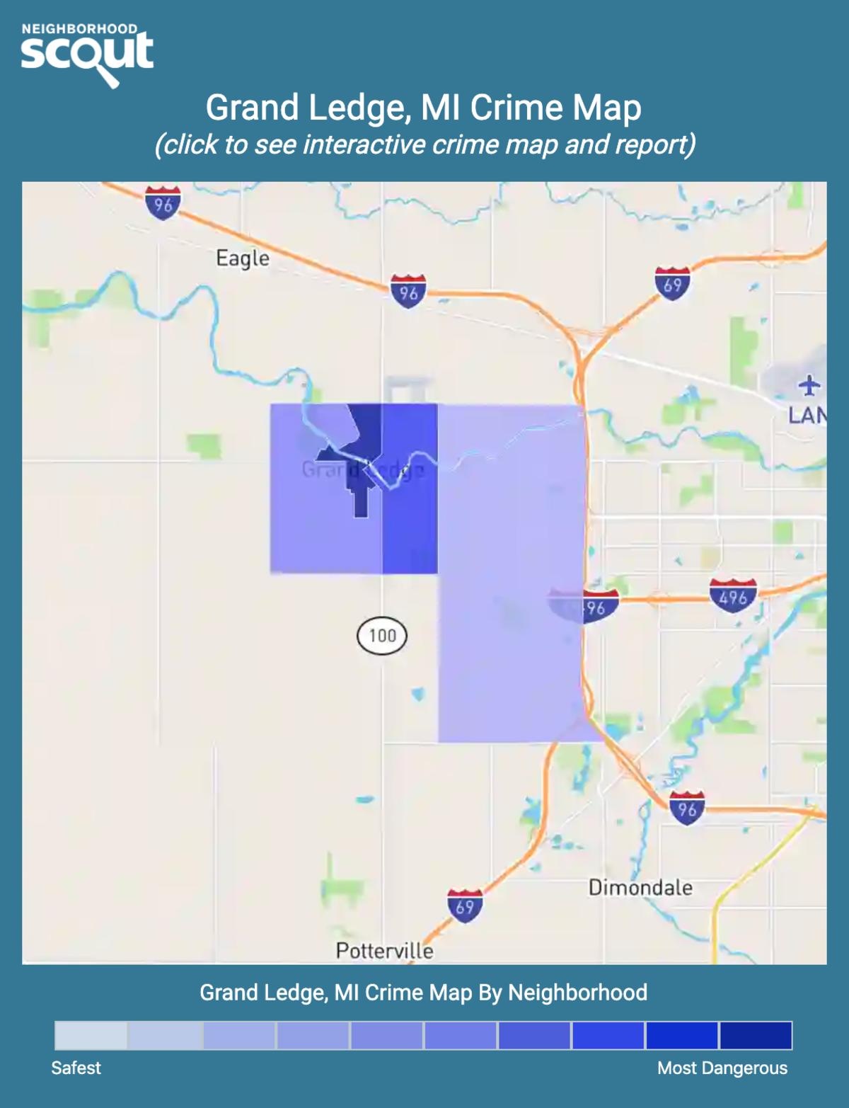 Grand Ledge, Michigan crime map