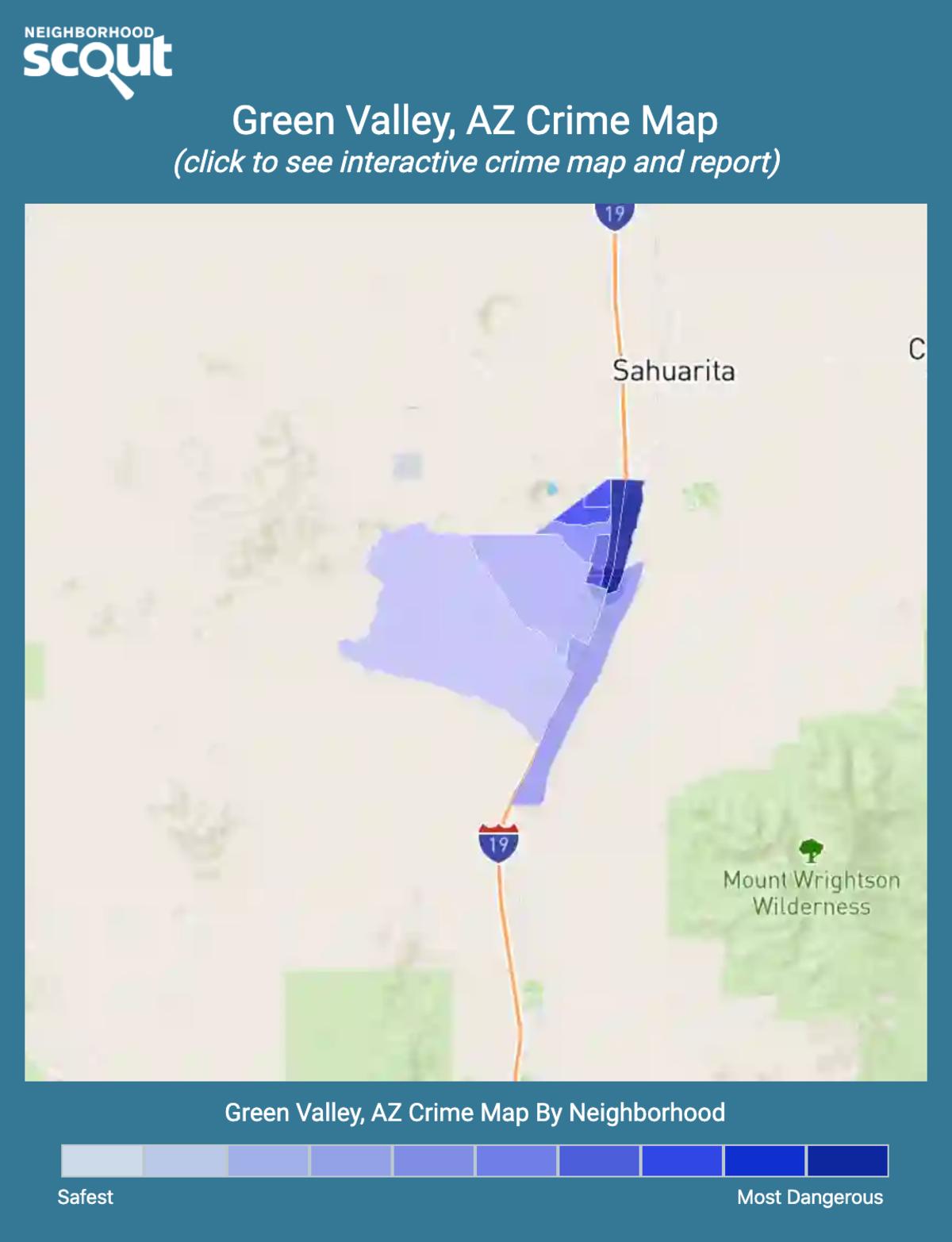 Green Valley, Arizona crime map