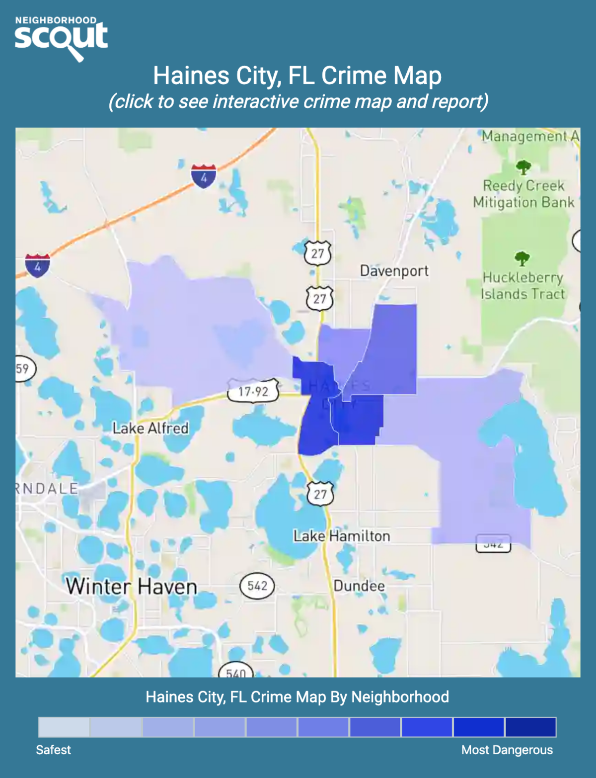 Haines City, Florida crime map