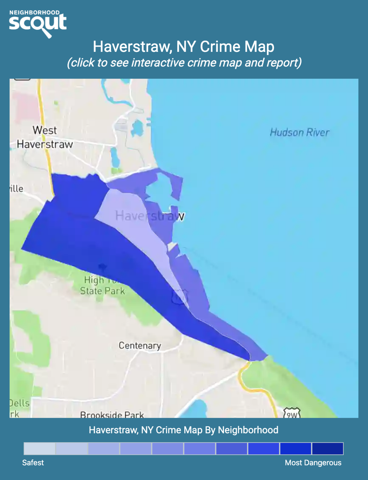 Haverstraw, New York crime map
