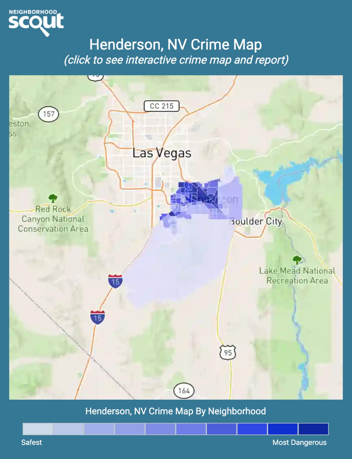 Henderson, Nevada crime map