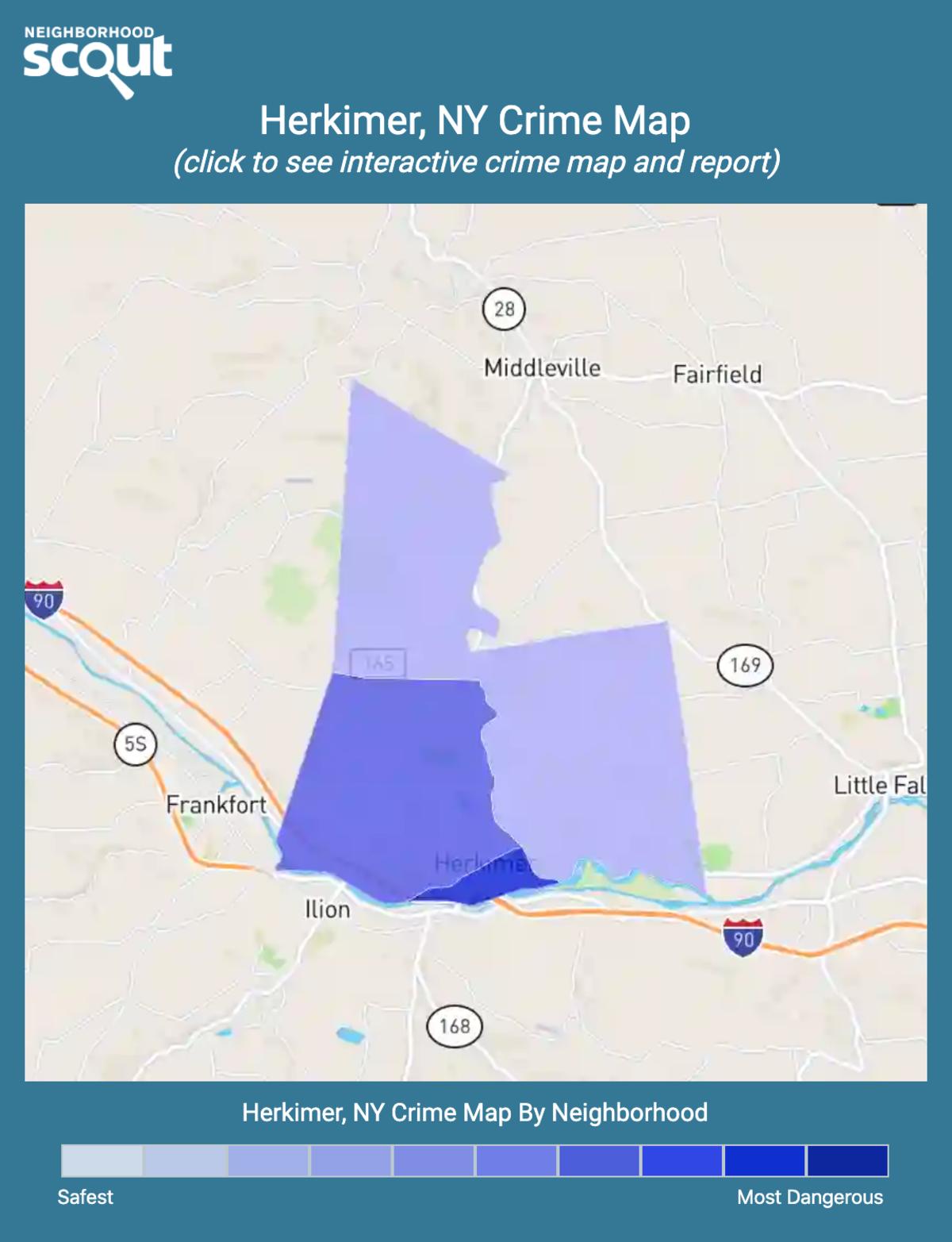 Herkimer, New York crime map