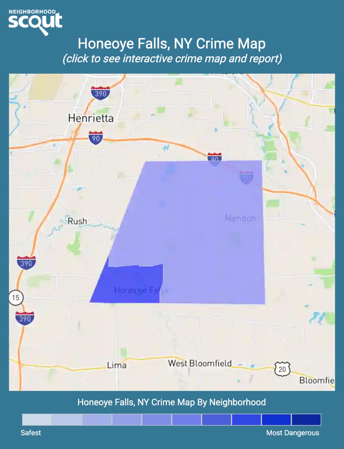 Honeoye Falls, New York crime map