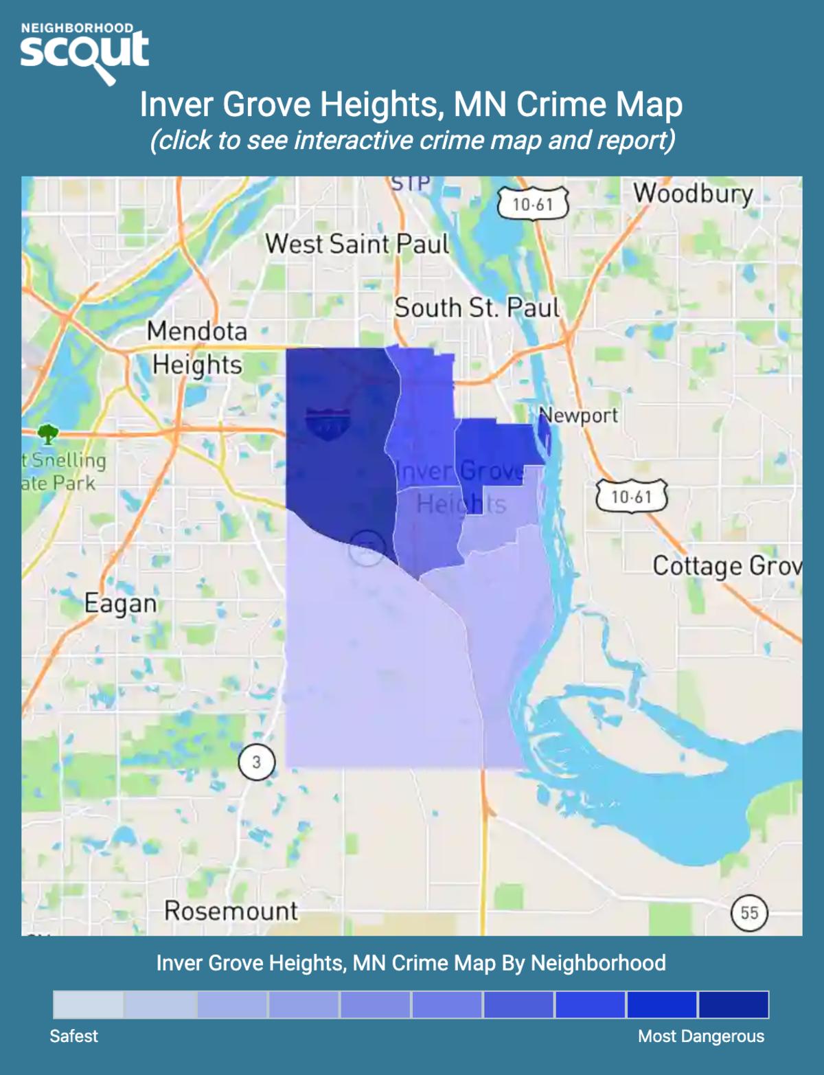 Inver Grove Heights, Minnesota crime map