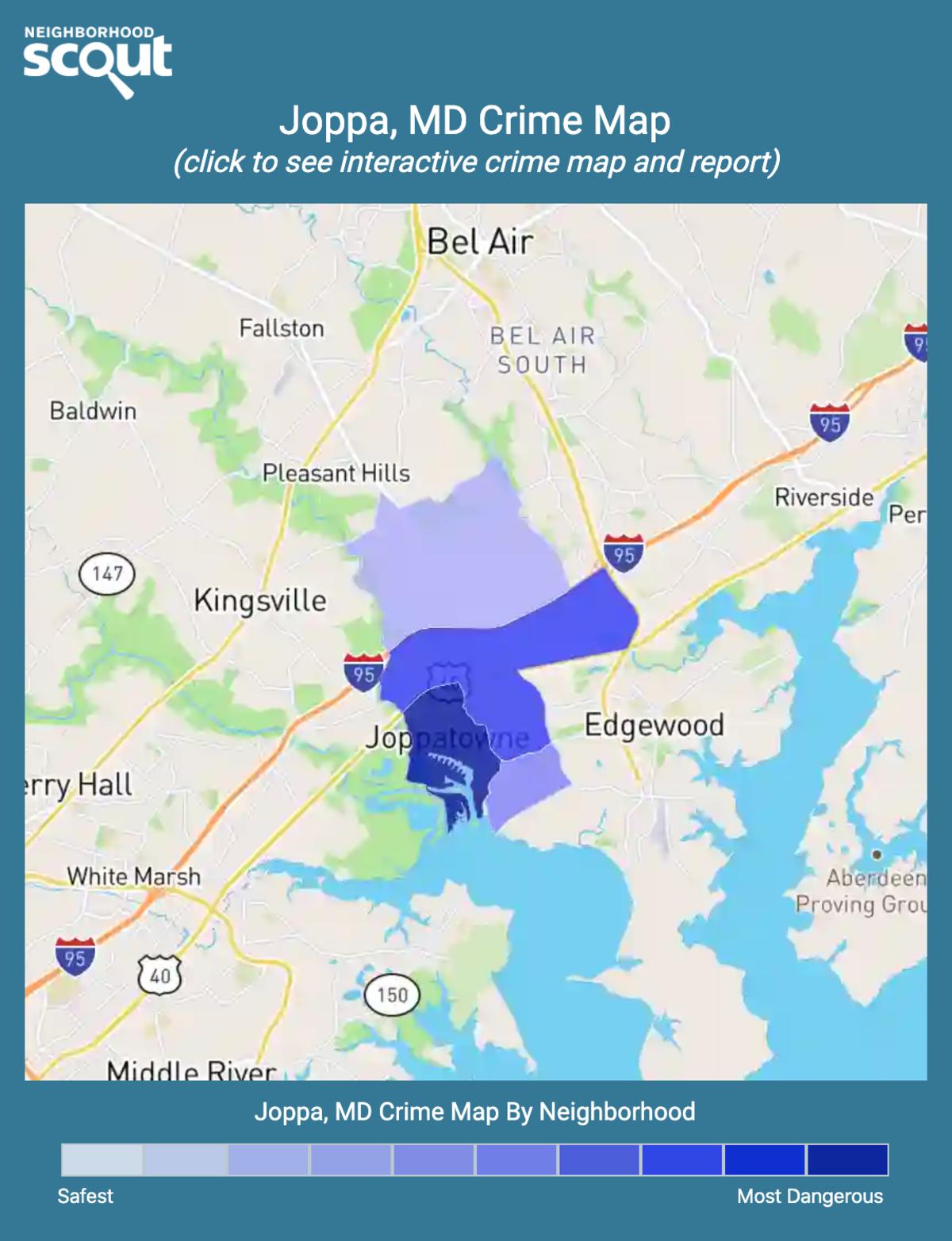 Joppa, Maryland crime map