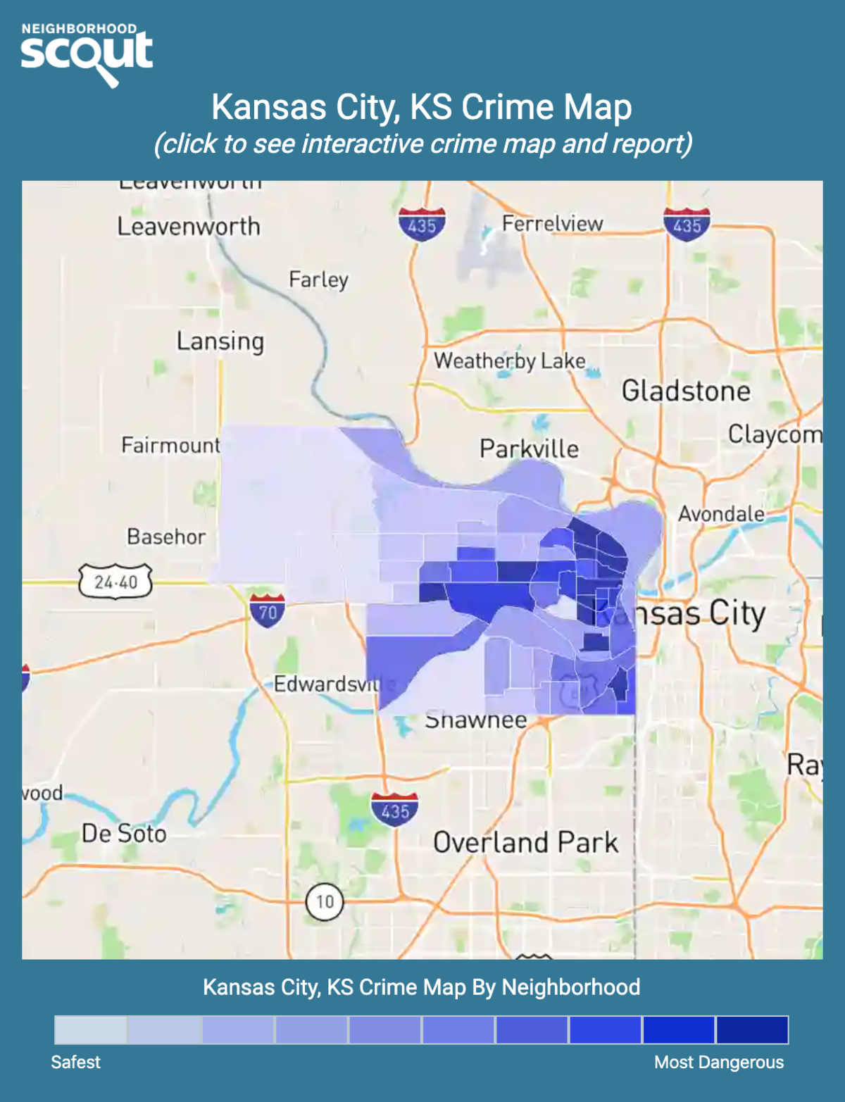 Kansas City, Kansas crime map