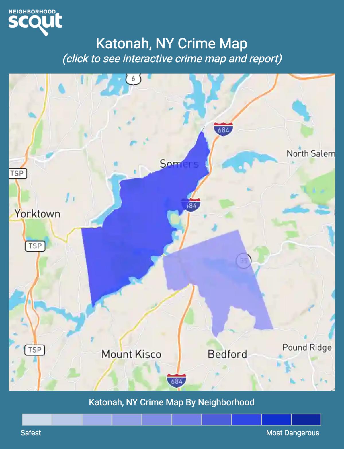 Katonah, New York crime map