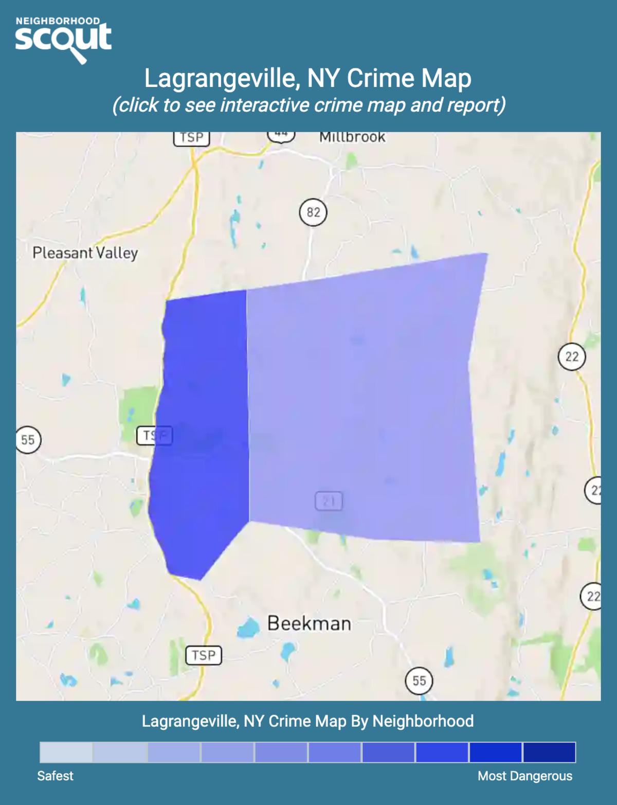 Lagrangeville, New York crime map