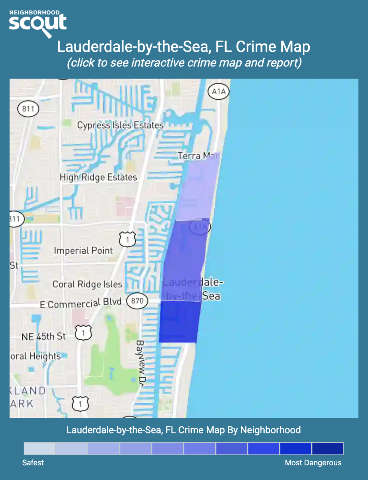 Lauderdale-by-the-Sea, Florida crime map