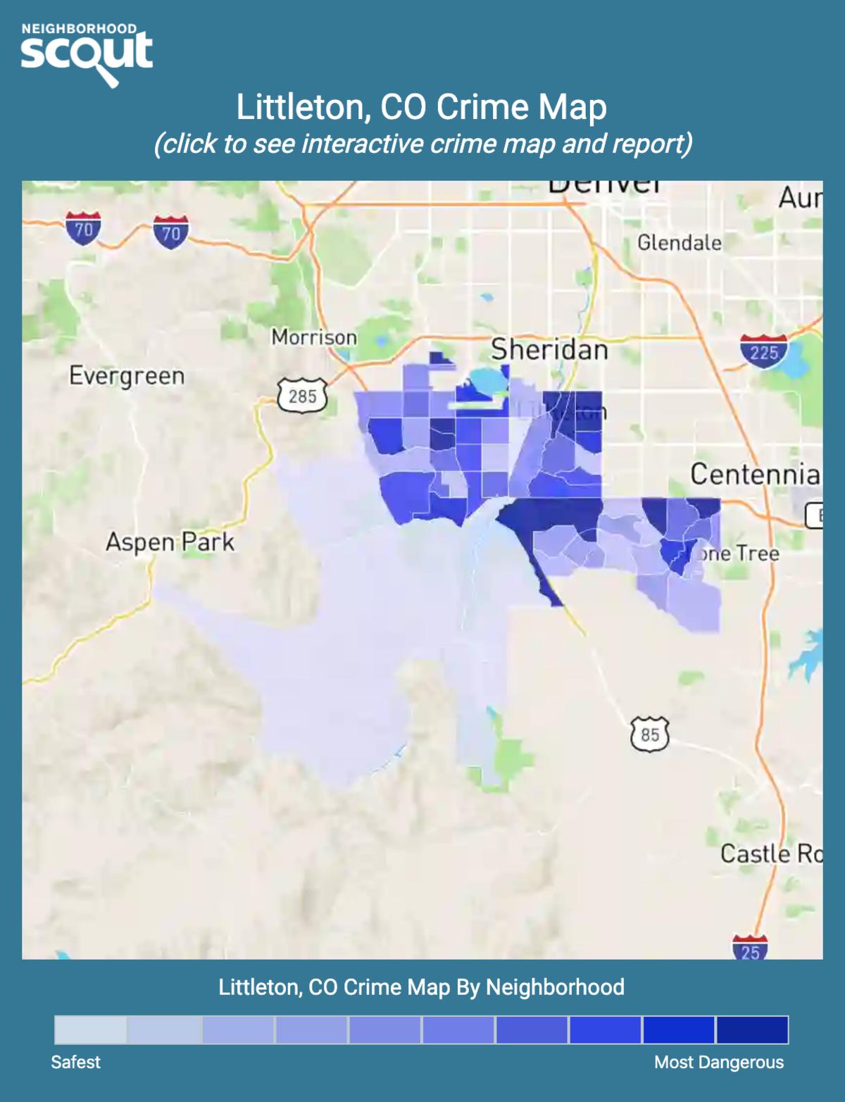 Littleton, Colorado crime map