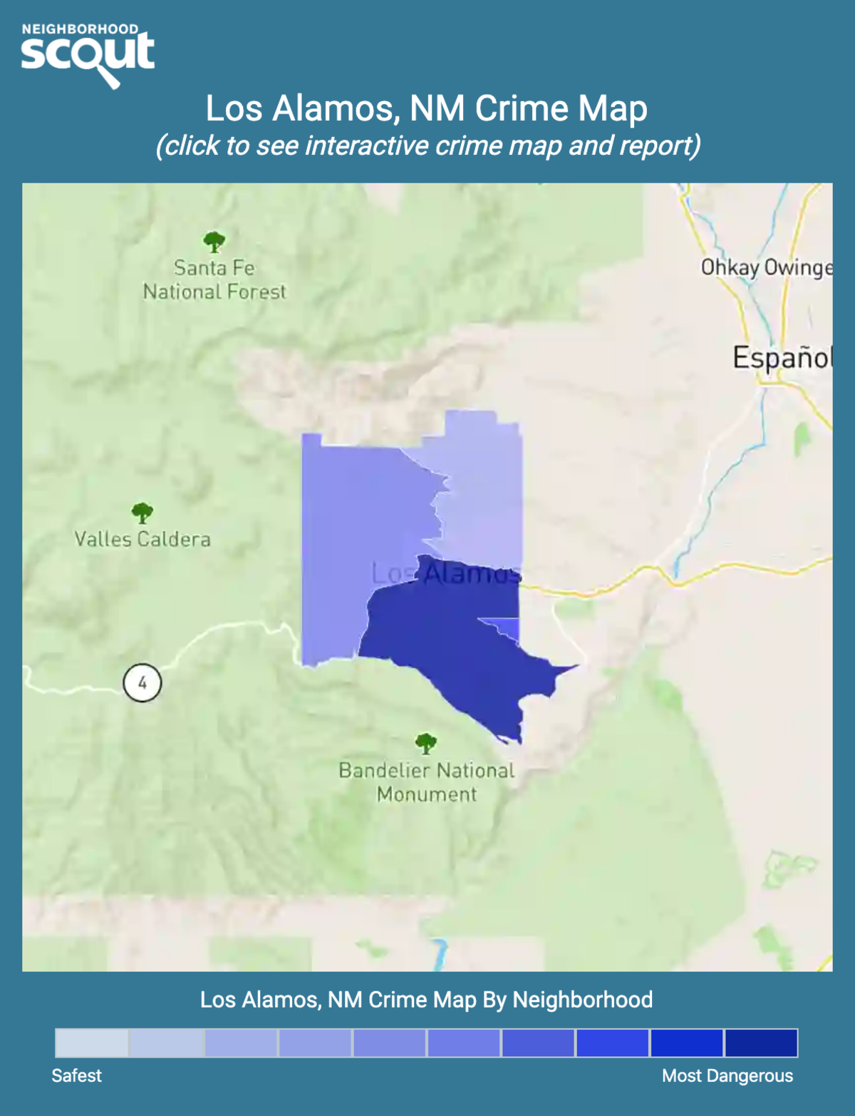 Los Alamos, New Mexico crime map