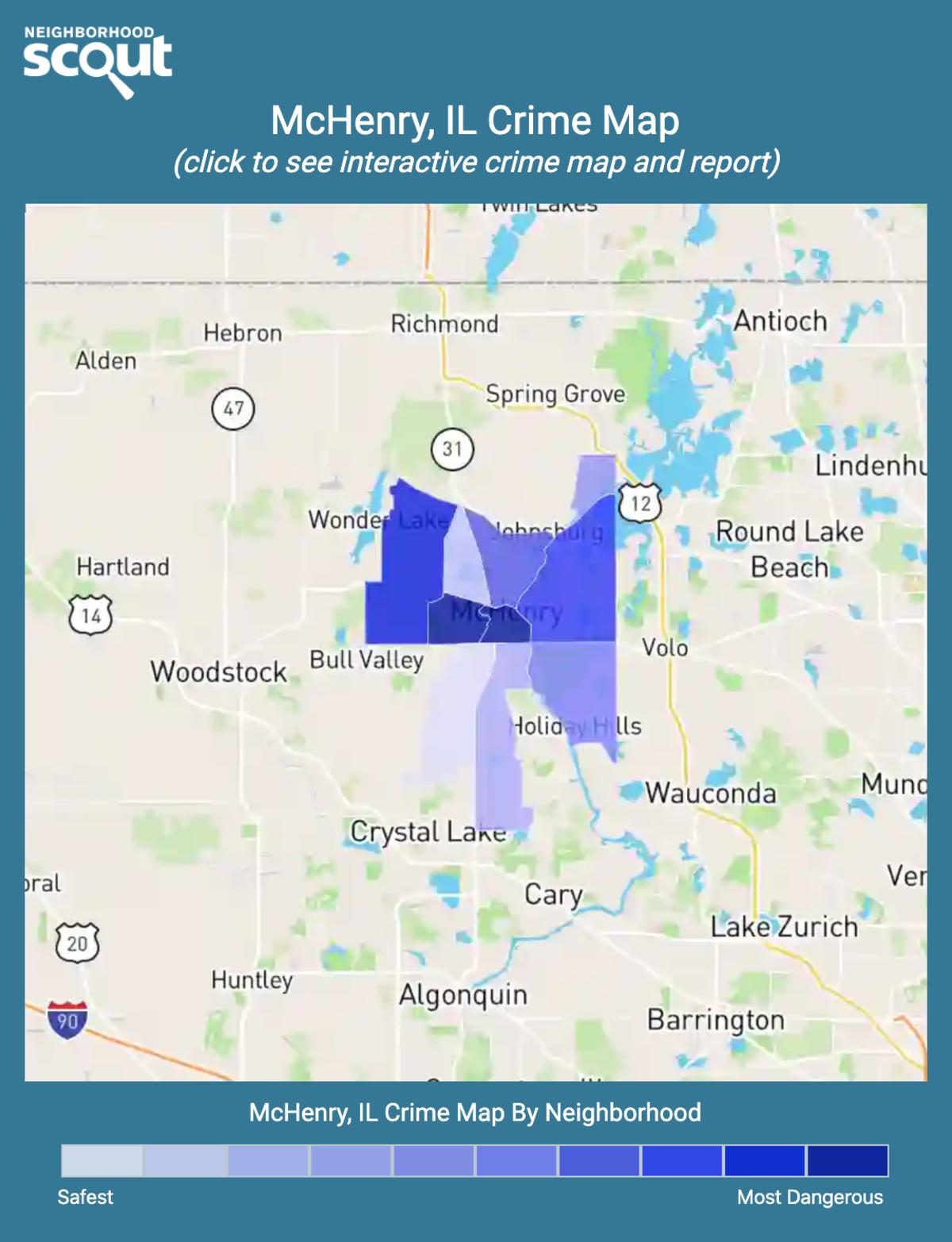 McHenry, Illinois crime map