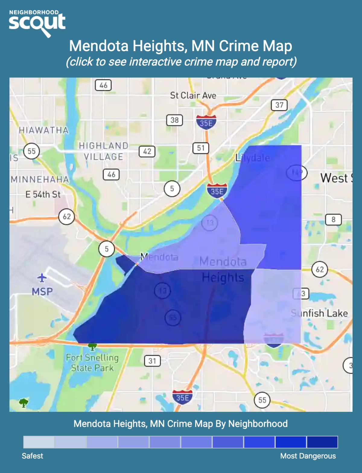Mendota Heights, Minnesota crime map