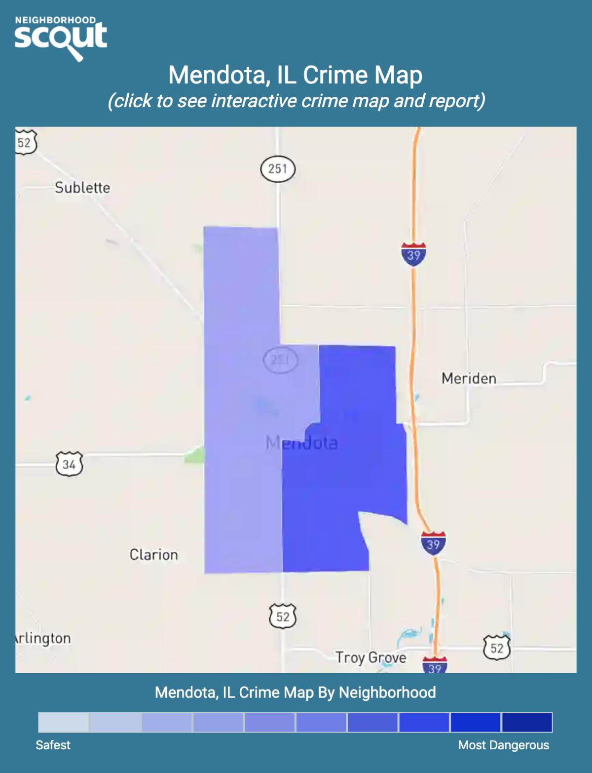 Mendota, Illinois crime map