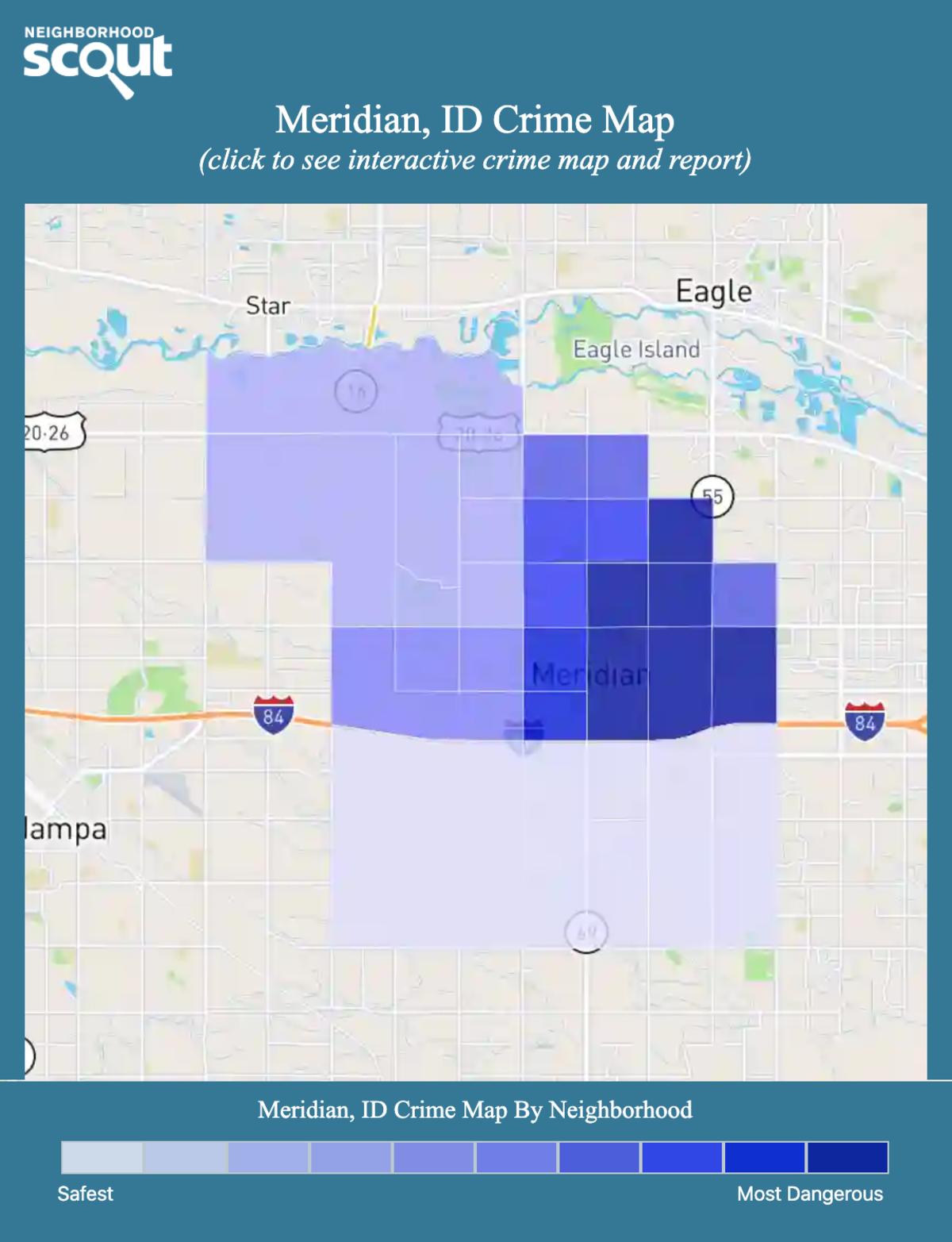 Meridian, Idaho crime map