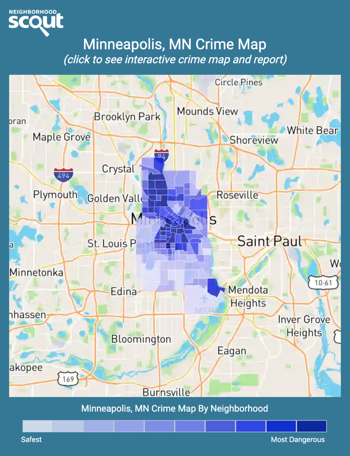 Minneapolis, Minnesota crime map