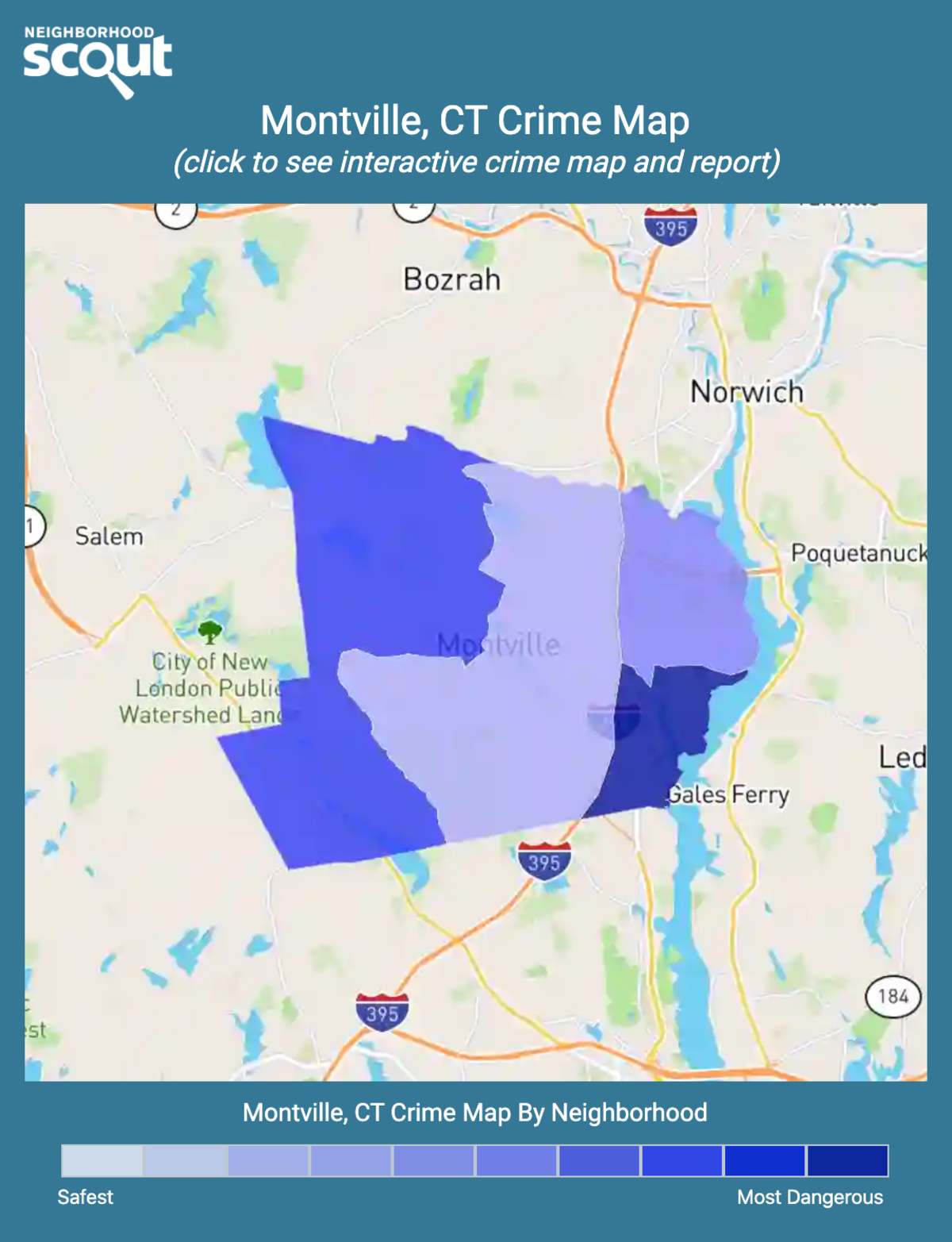 Montville, Connecticut crime map