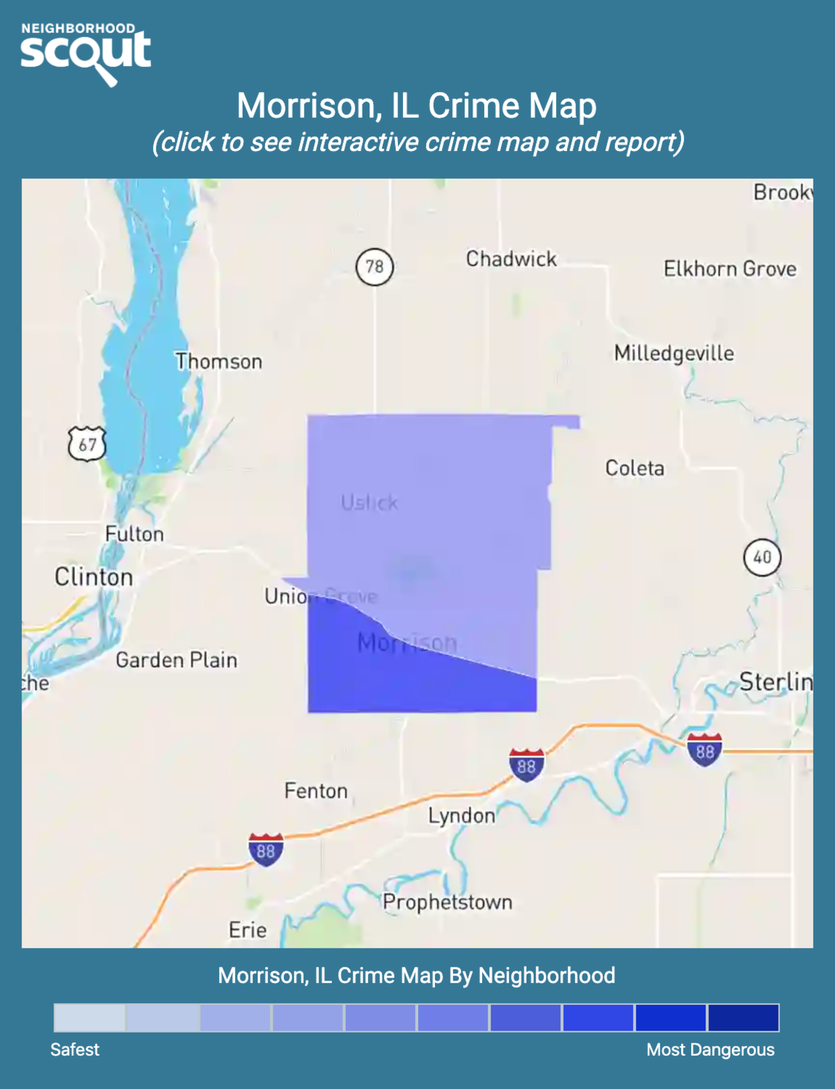 Morrison, Illinois crime map