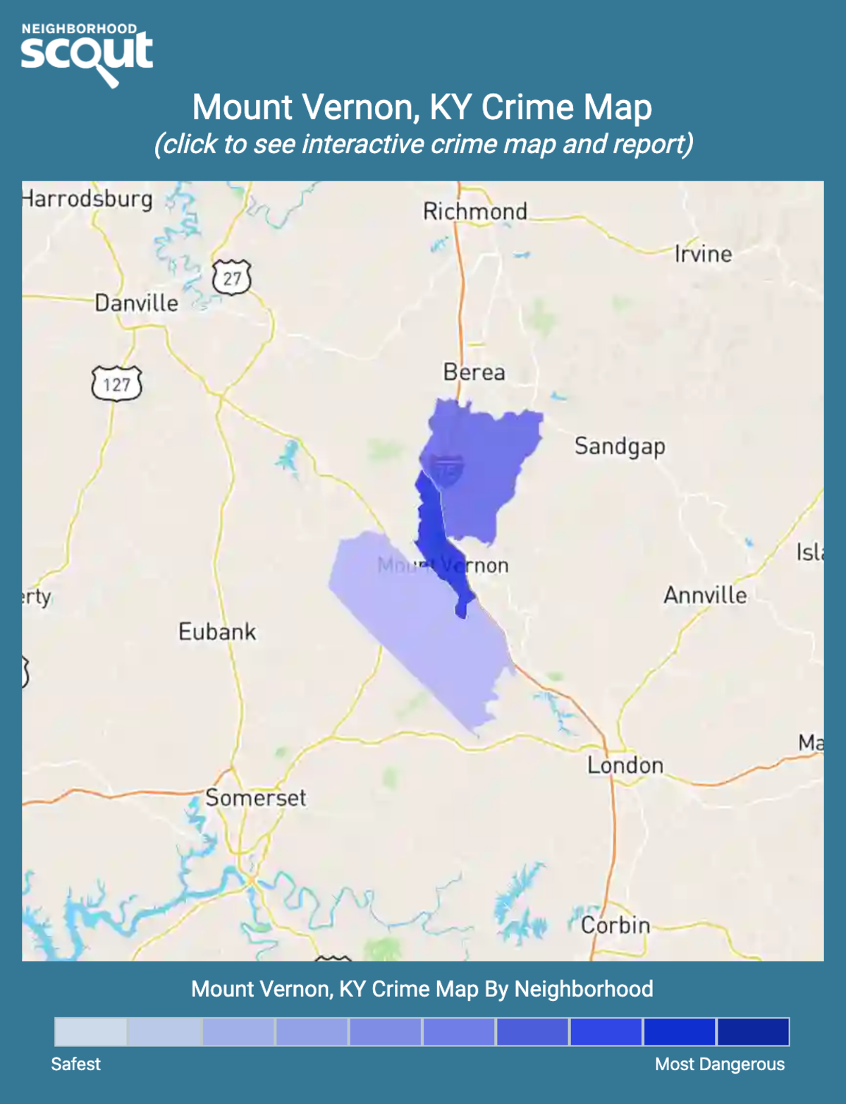 Mount Vernon Ky Crime Rates And Statistics Neighborhoodscout