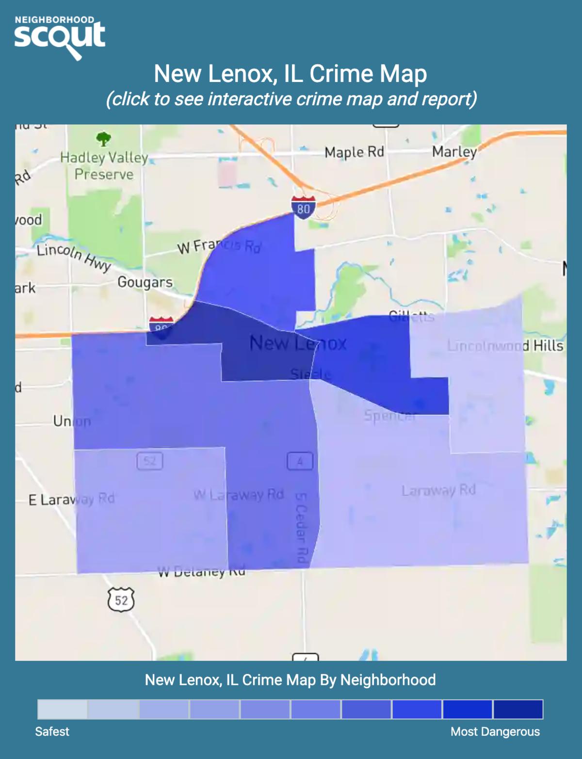 New Lenox, Illinois crime map