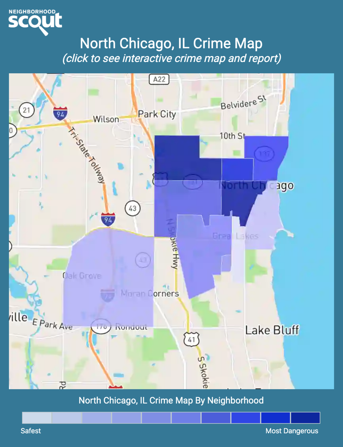 North Chicago Crime Rates and Statistics - NeighborhoodScout