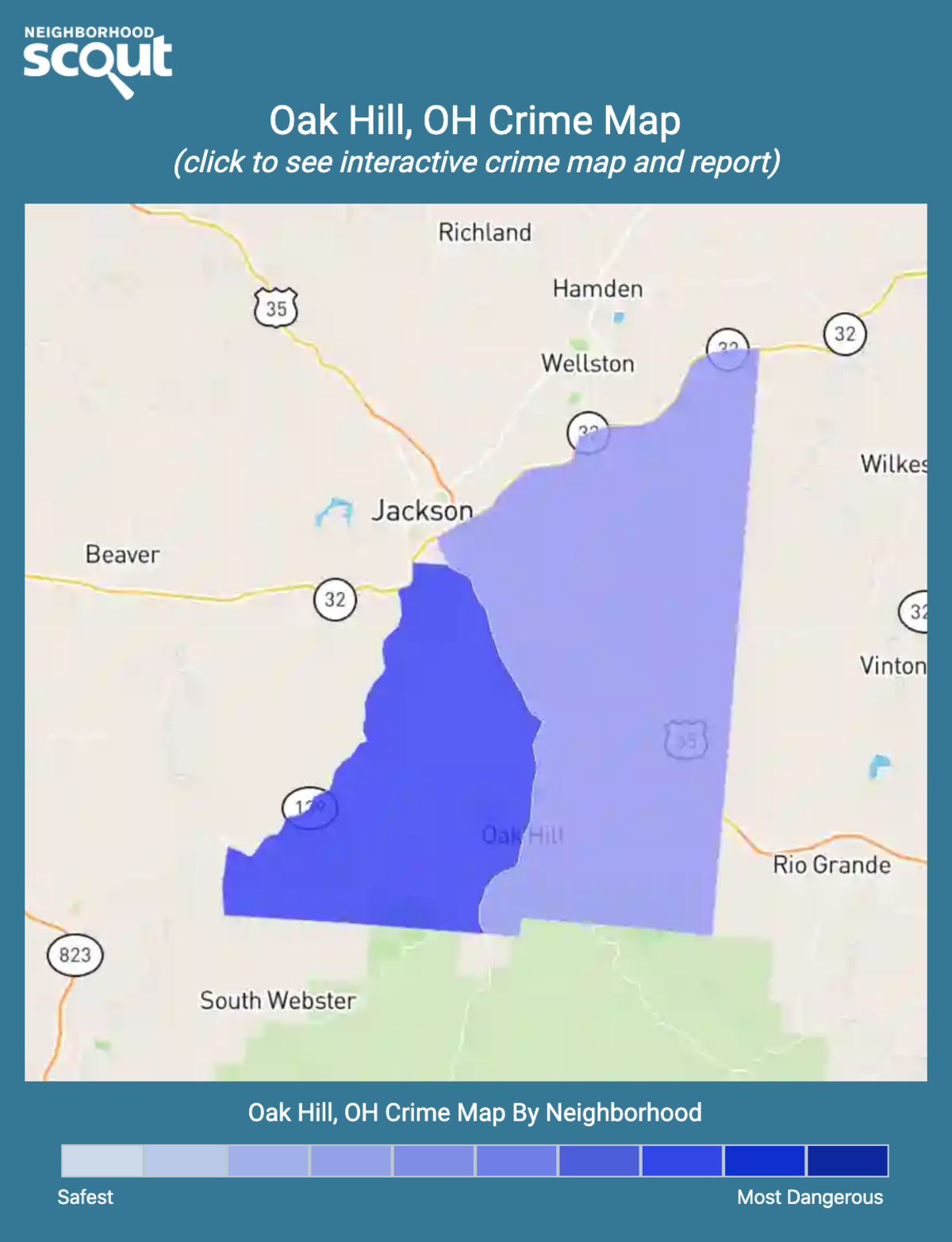 Oak Hill Oh Crime Rates And Statistics Neighborhoodscout