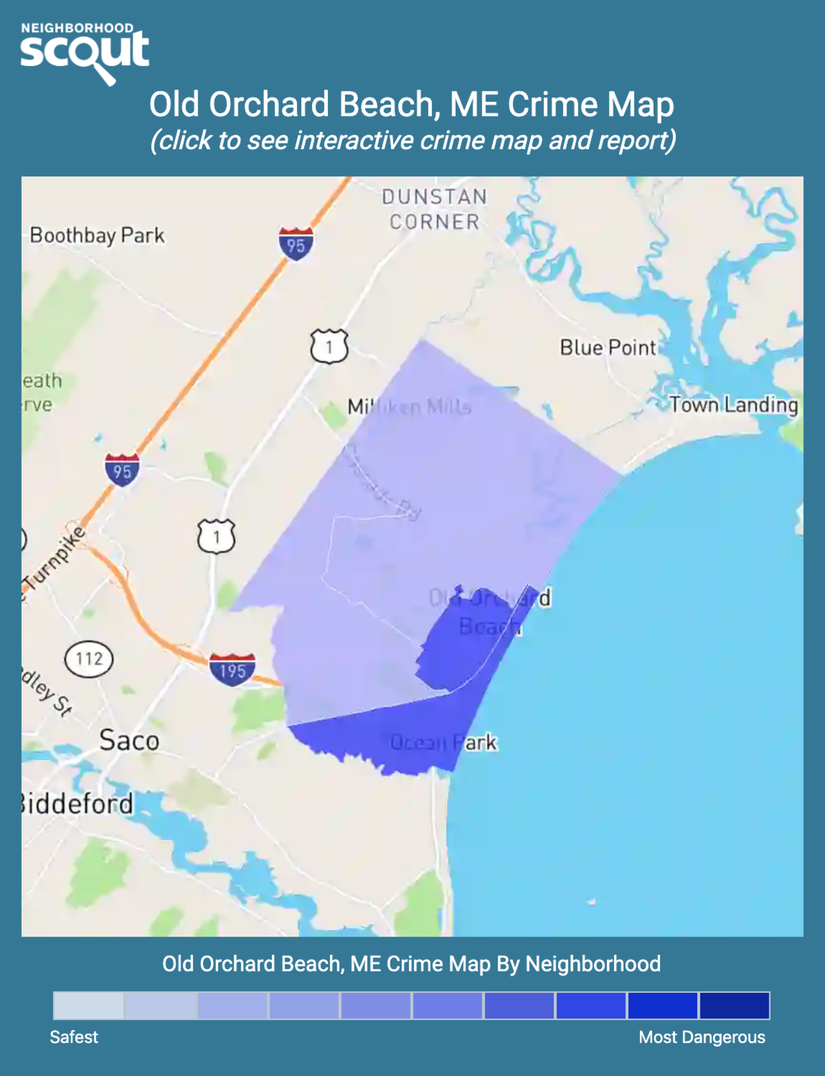 Old Orchard Beach, Maine crime map