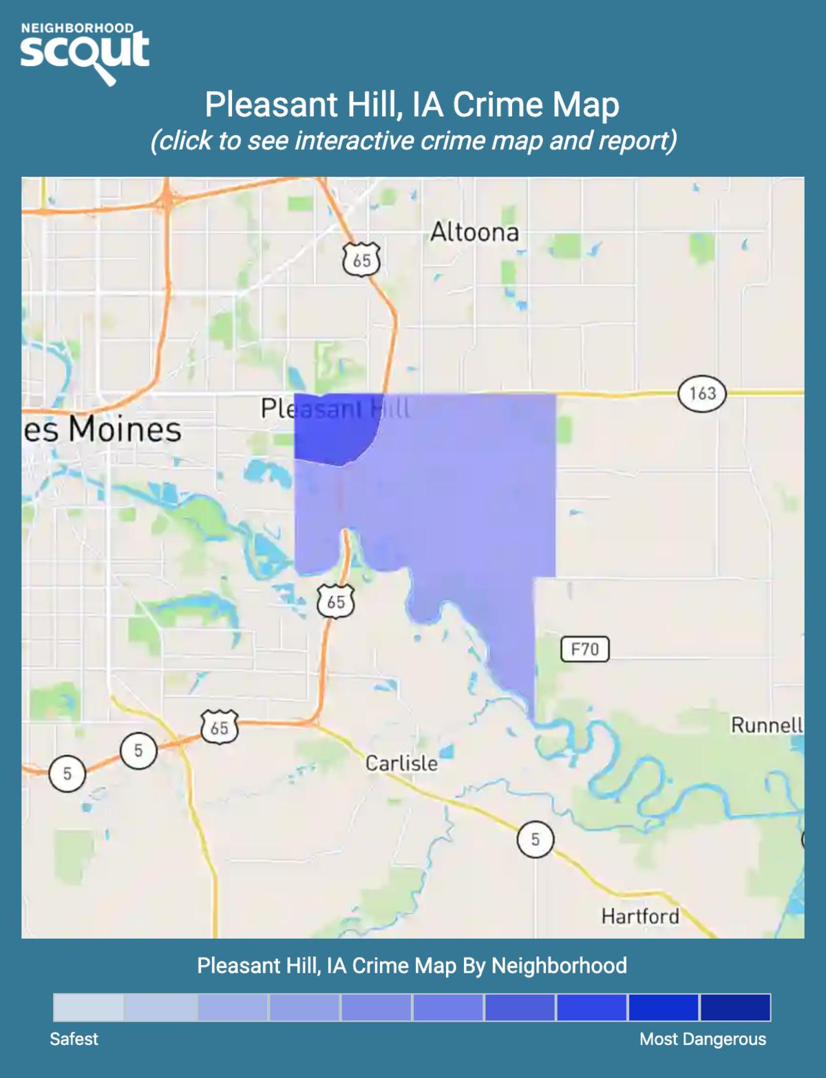 Pleasant Hill, Iowa crime map