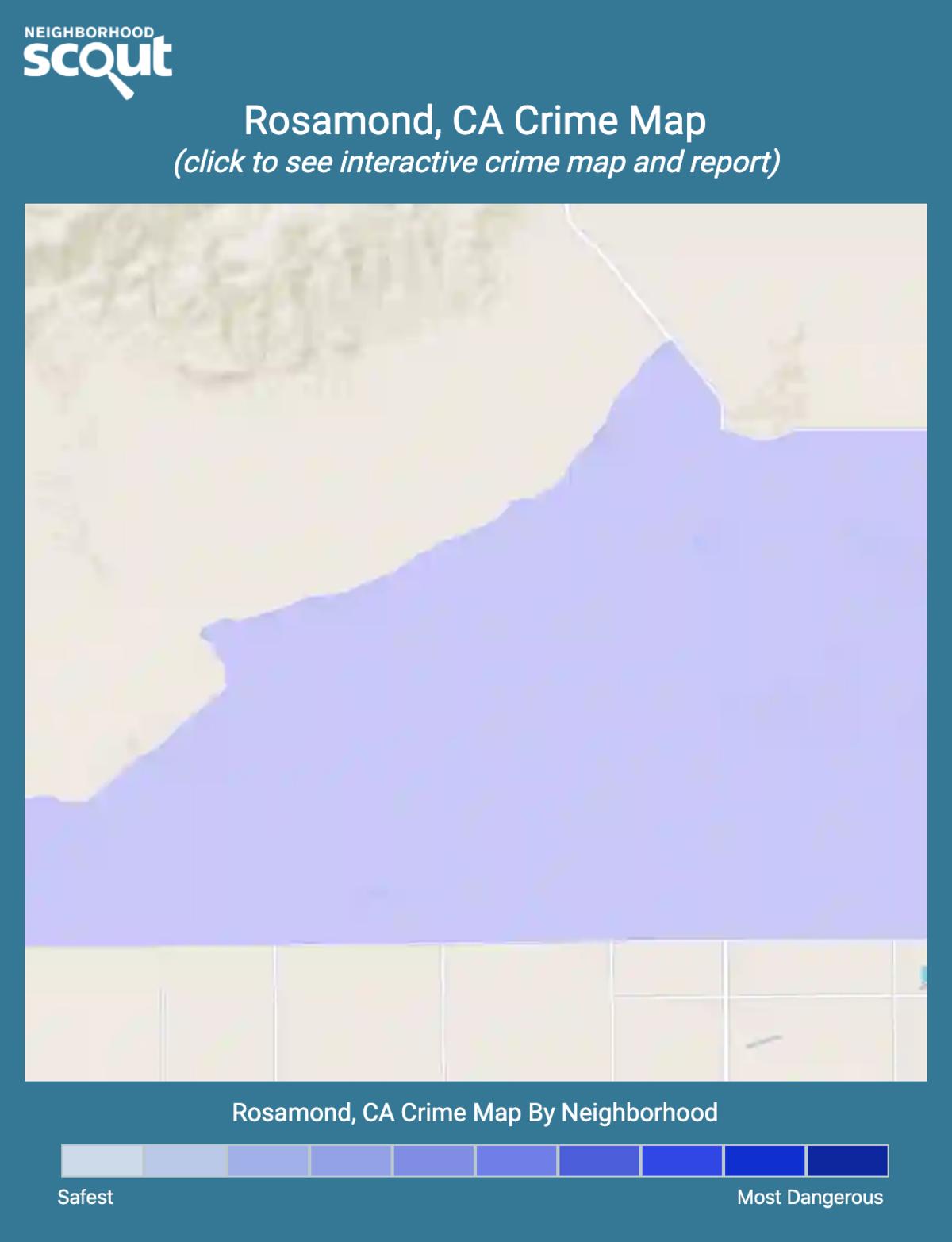Rosamond, California crime map