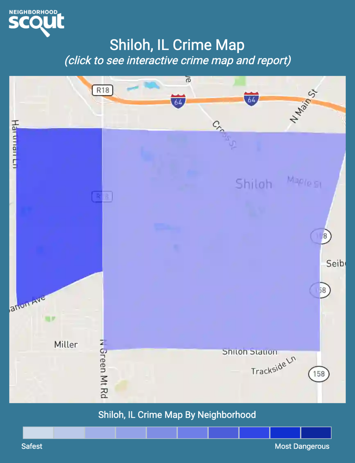 Shiloh, Illinois crime map